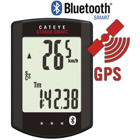 CatEye Strada Smart CC-RD500B Navigationsudstyr, black